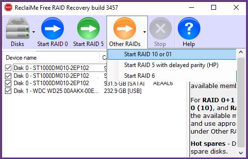 RAID10 recovery