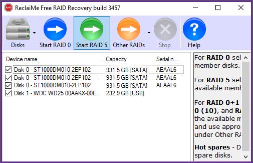 RAID5 recovery