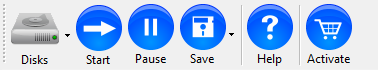 ReclaiMe toolbar buttons