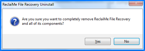 Uninstall ReclaiMe-step4